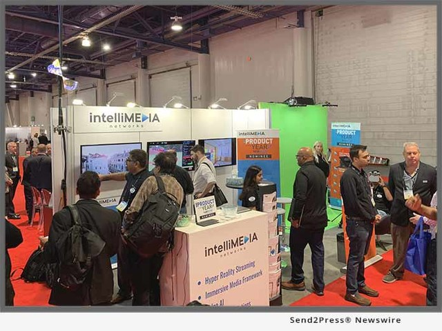 IntelliMedia Networks' HoloPort and Mixie shortlisted for 2019 NAB Show Product of the Year Awards