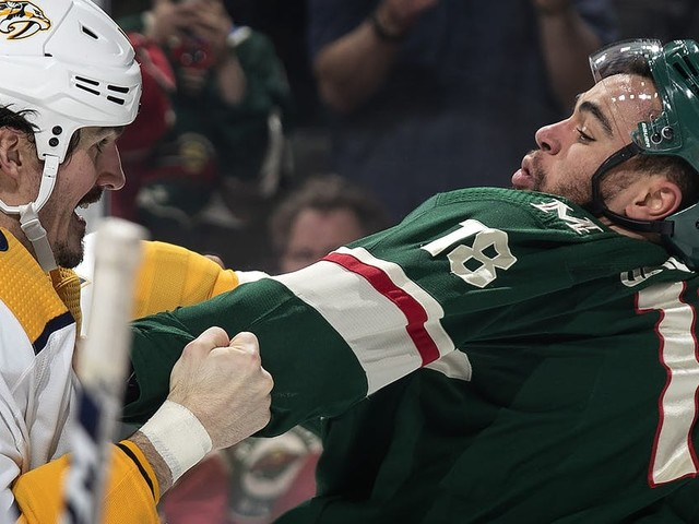 Another empty effort as Wild blanked by Predators