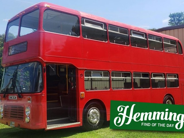 Hemmings Find of the Day: 1981 Bristol Double Decker Bus