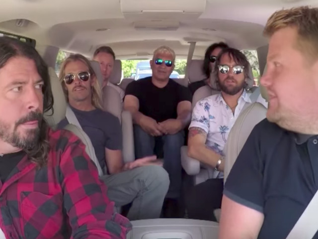 Foo Fighters' Dave Grohl Admits Carpool Karaoke Was 'A Little Uncomfortable'