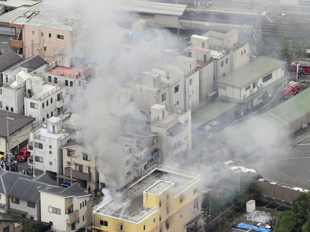 At least 23 dead in Japan anime studio fire