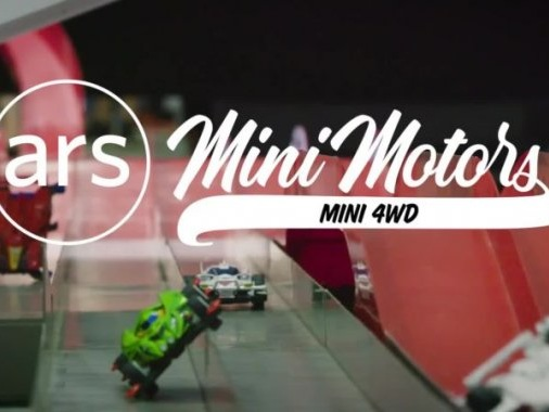 Mini 4WD is an electrifying race series for makers and tinkerers
