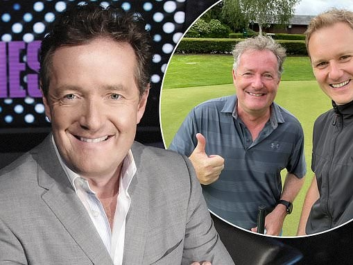 PIERS MORGAN: I'm just like Cristiano Ronaldo, I need a rivalry to get me out of bed in the morning