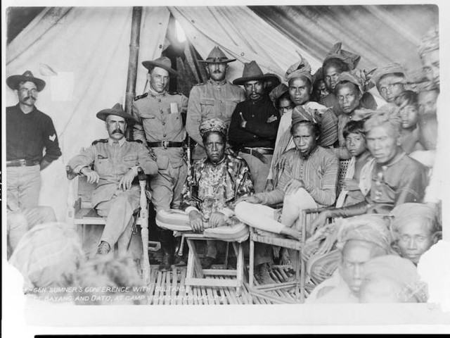 One Record Of General Pershing's Quite Cordial Relationship With Filipino Muslims