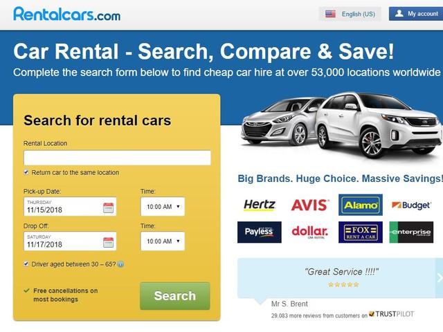 Rentalcars.com Expands Partnership with Insurance Provider
