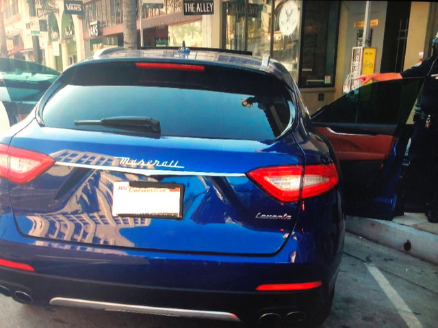 Pasadena Man, Who Allegedly Bought Maserati With COVID Relief Money, Also Said To Have Had A Universal USPS Key