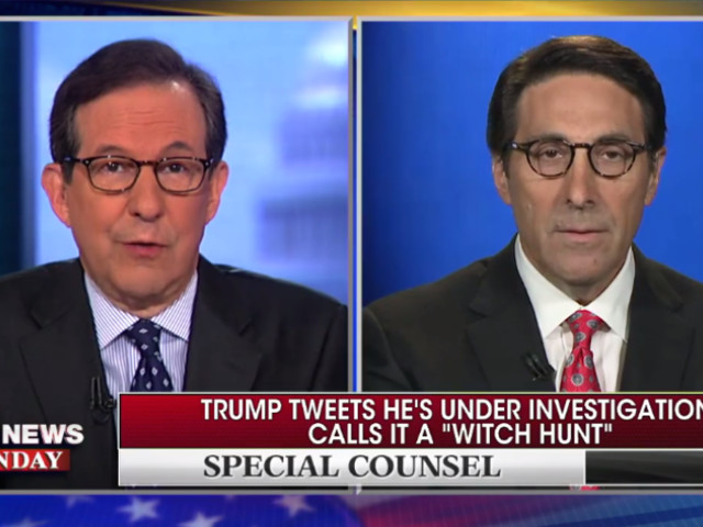 Trump Lawyer Says President Isn't Even Under Investigation, but the Investigation Is Unconstitutional