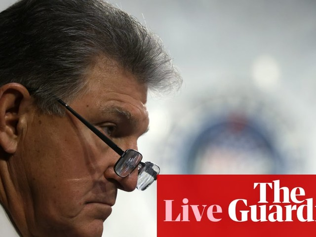 Manchin unmoved on voting rights despite meeting Black civil rights leaders – live