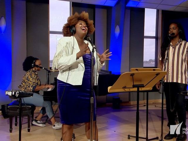 You must watch Kam Franklin of The Suffers cover 'The Climb' by Miley Cyrus