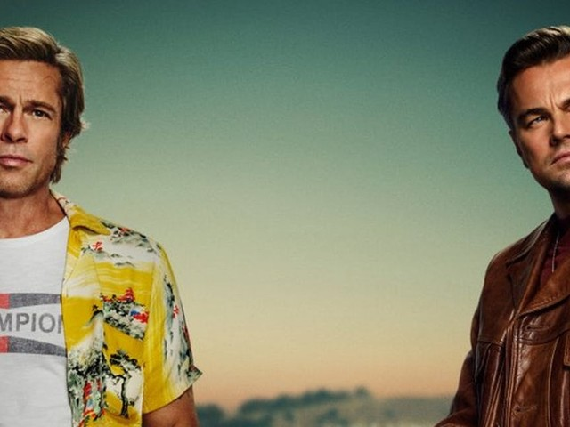 The 'Once Upon A Time In Hollywood' Teaser Will Make Brad Pitt & Leo DiCaprio Fans Melt
