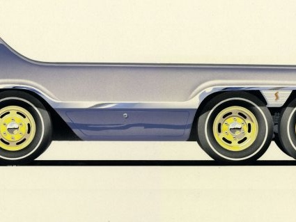 That Exner design is great and all, but when it comes to building never-built vehicles…