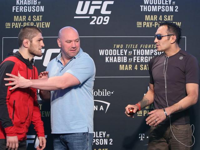 Khabib Nurmagomedov-Tony Ferguson fight to headline UFC 223
