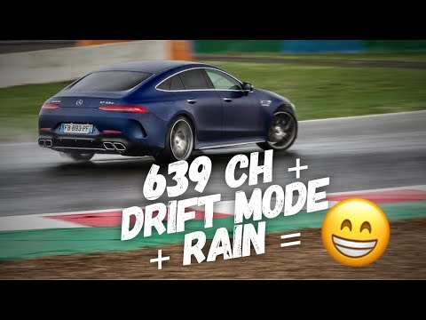 Driving The Mercedes-AMG GT 63 S In The Wet Looks Like An Absolute Ball