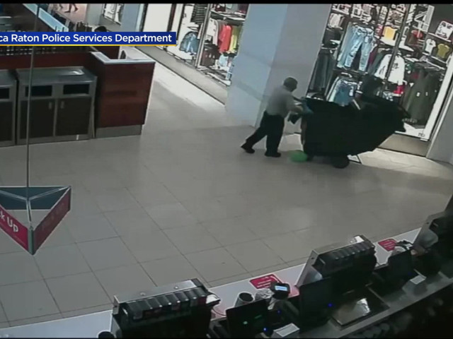 Boca Raton PD Releases Surveillance Video Of Scare At The Town Center Mall