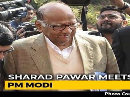 Sharad Pawar-PM Modi Meet On Farm Crisis 2 Days After Rajya Sabha Praise