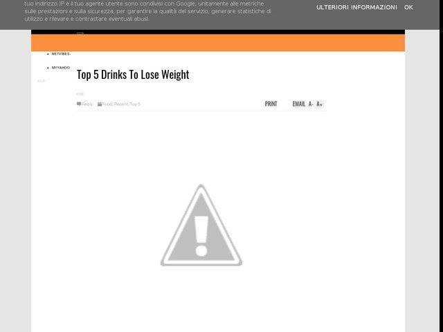 Top 5 Drinks To Lose Weight