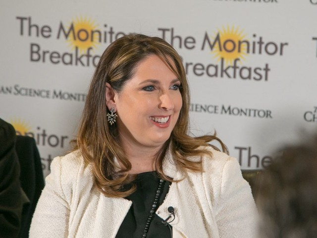 Ronna McDaniel, RNC chair: Impeachment is bringing in cash, no one 'pulling away'