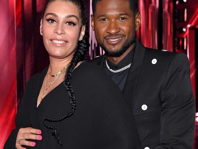 Usher and Girlfriend Jenn Goicoechea Welcome Baby No. 2