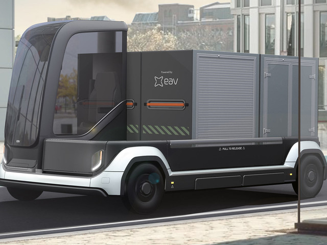 UK's EAV Has Created A Modular Electric Commercial Van