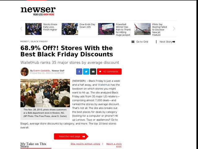 68.9% Off?! Stores With the Best Black Friday Discounts