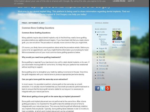 Common Bone Grafting Questions