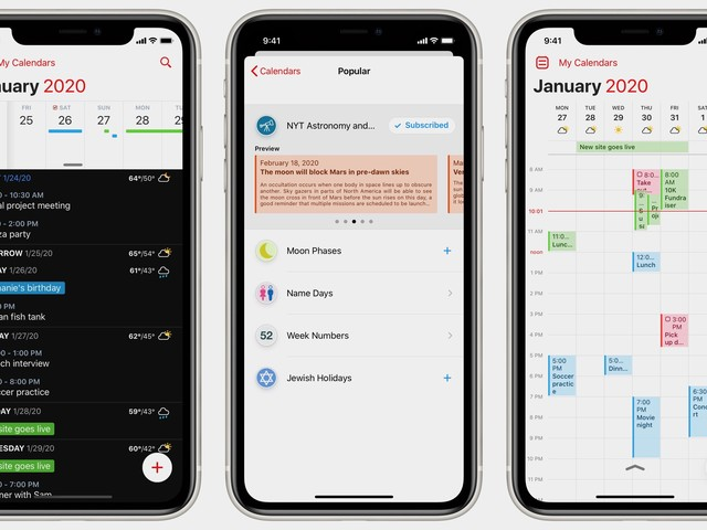 Fantastical Unifies Its Mac, iOS, and Apple Watch Calendar Experience With Weather, Tasks, Meeting Proposals, and More