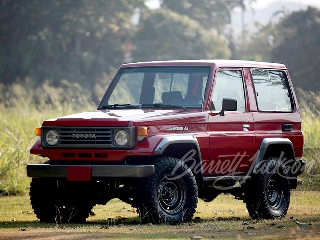 1993 Toyota Land--Cruiser SUV