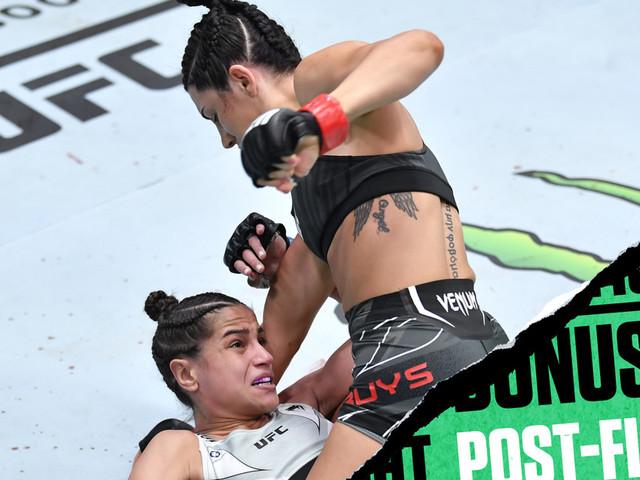 UFC Vegas 33 bonuses: Buys wins POTN for thrilling head kick TKO