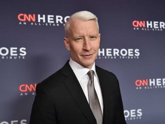 Anderson Cooper says he 'doesn't really have a life off-air'