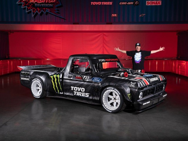 You'll Never Believe How Much Ken Block is Selling His F-150 Hoonitruck For