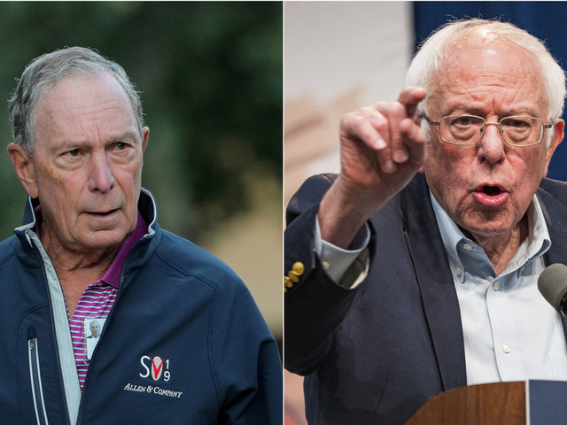 'Arrogance of billionaires': Bernie Sanders slams Michael Bloomberg's potential run without campaigning in key states