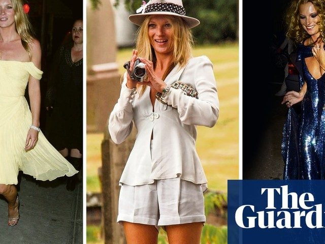 'I go with my instincts': queen of vintage Kate Moss on how to shop secondhand