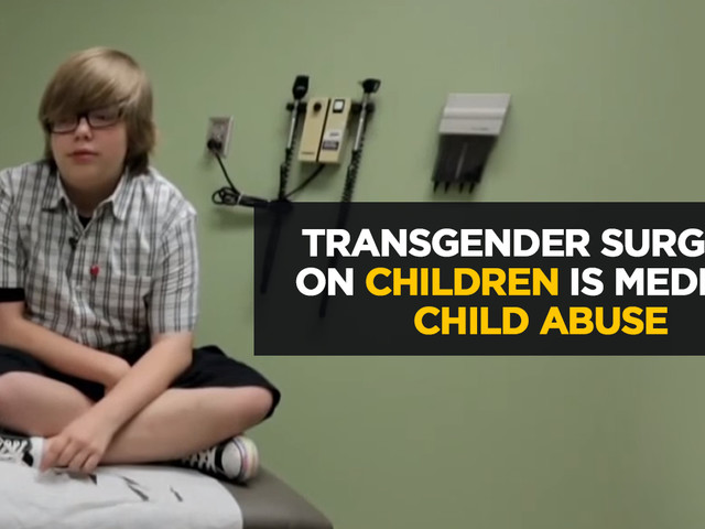 """YouTube now banning doctors for daring to question transgenderism... Trannies the new """"untouchables"""" who can never be questioned"""