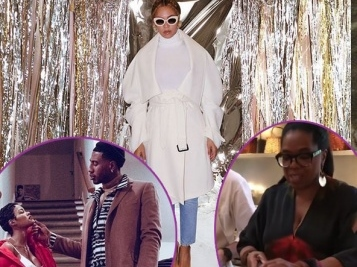 THANKSGIVING 2017: 'Thick' Beyonce, Struggle Chef Draya, Salsa Dancing LaLa Anthony, Cooking Oprah & So Much More