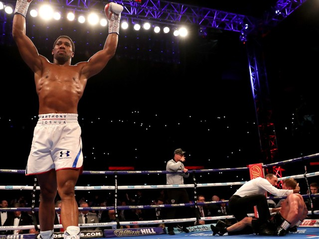 Anthony Joshua's team told us how they're planning to make him even bigger than Floyd Mayweather in the U.S.