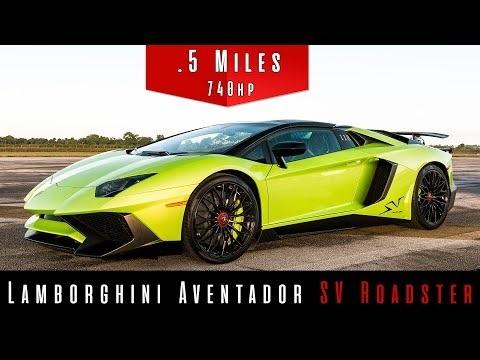 Lamborghini Aventador SV Launches Like It's Nobody's Business