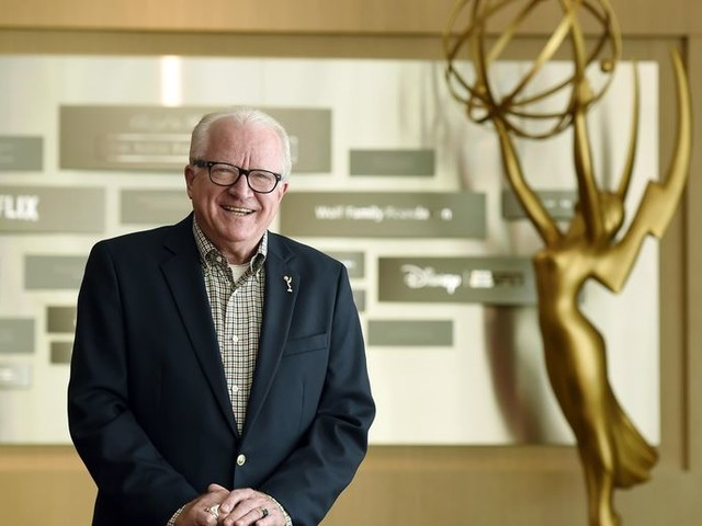 Emmy impostor, trophy injury: awards chief has seen it all