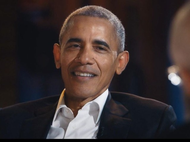 WATCH: Obama's first talk show appearance since leaving office