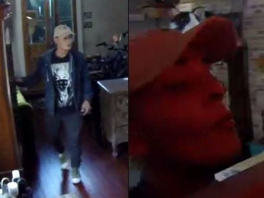 Man caught on video stealing tablet, jewelry from Marigny home