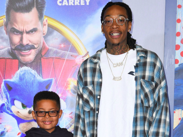 Wiz Khalifa and Amber Rose Celebrate Son's Birthday With 'It'-Themed Party