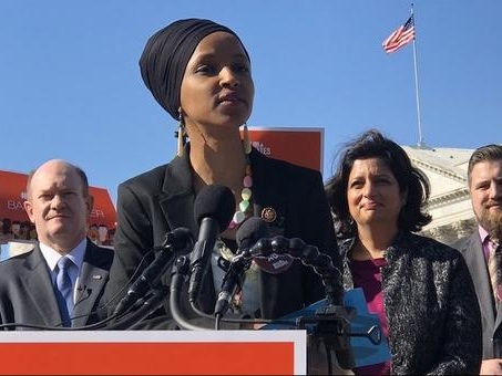 "Rep. Omar Virtue Signals With ""No Ban Act"" - Except Obama's Travel Bans Were 16x That Of Trump's"