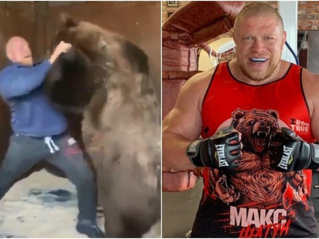 Russian bear-wrestling murder convict Maxim 'Mad Max' Novoselov confirmed for fight return