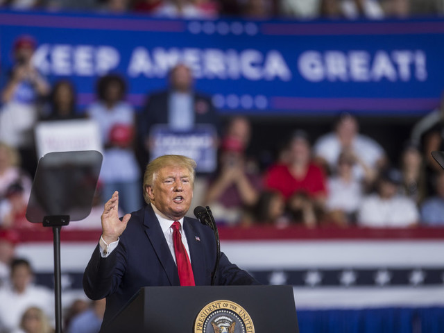 Trump repeated an unfounded claim that freshman lawmaker Ilhan Omar married her brother to sneak him into the US