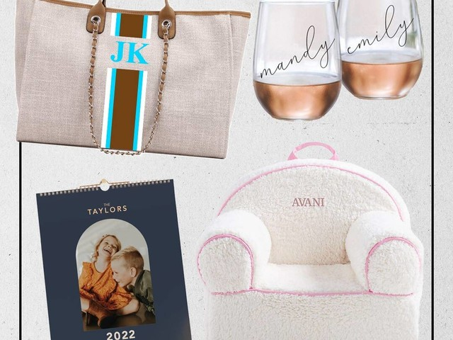 21 Personalized Holiday Gifts for Everyone on Your List