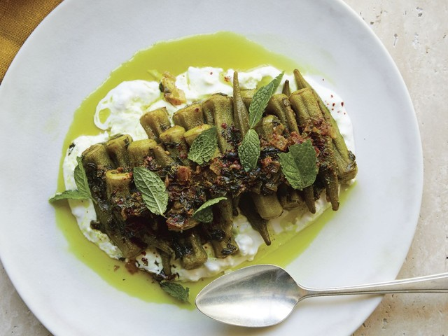 Lifting the flavors of Middle Eastern cuisine in the Bavel cookbook