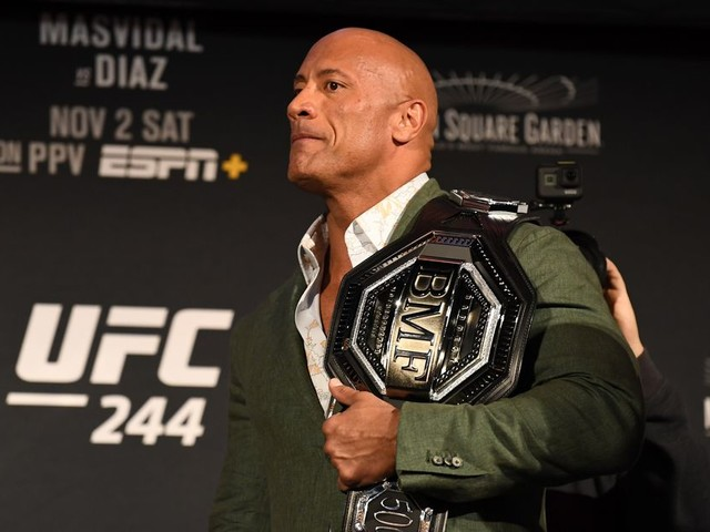 'The Rock' to star in film about MMA legend Mark Kerr