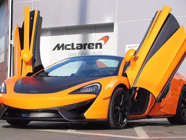 2019 McLaren 570S--Spider L