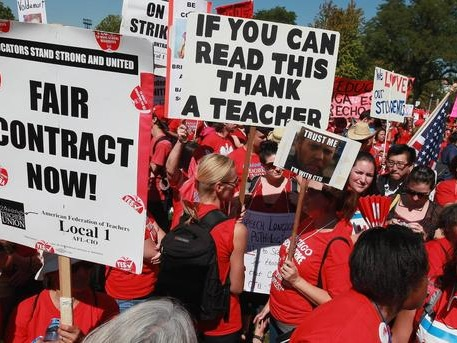 Illinois Strike Laws Prioritize Chicago Teachers Union Over Children