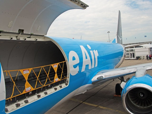 Take a look inside an Amazon Air Boeing 737, the latest weapon in Jeff Bezos' master plan to win the delivery wars
