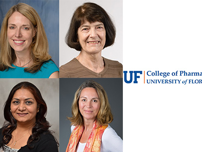 Four UF College of Pharmacy faculty named UF Term Professors